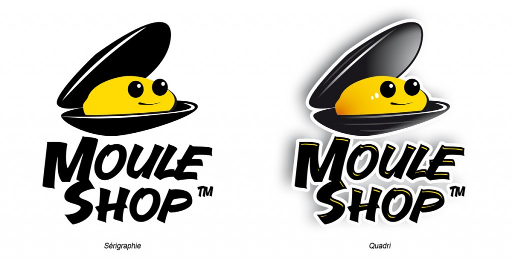 Moule Shop Logotype proposition 1