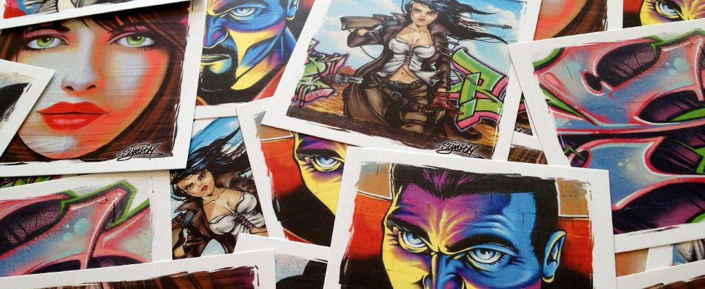 Graffiti print // Editions Limitées