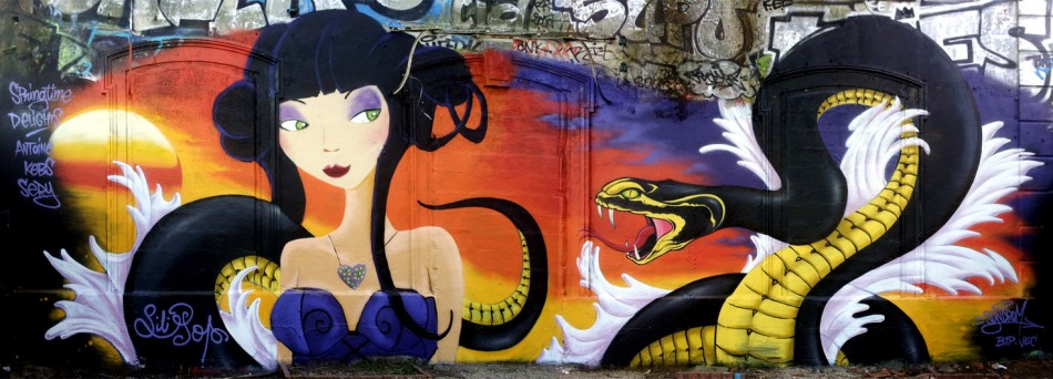 "Festival ""Springtime Delights"" Graffiti jam au Gabut"