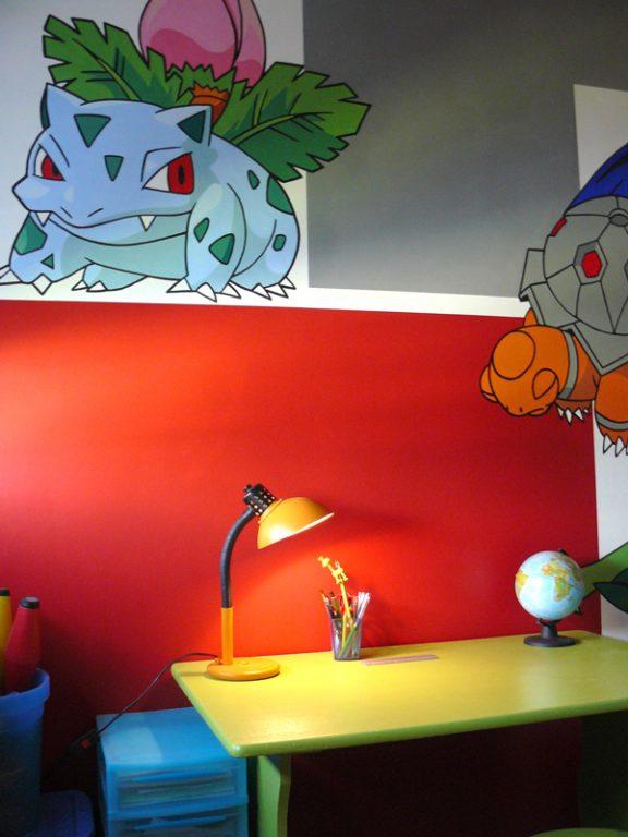Chambre-enfant-déco-Pokémon