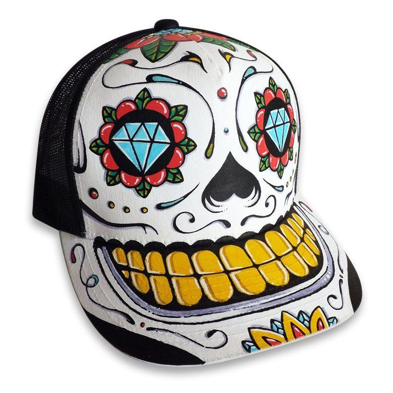 Casquettes Aztec & Sugar Skull