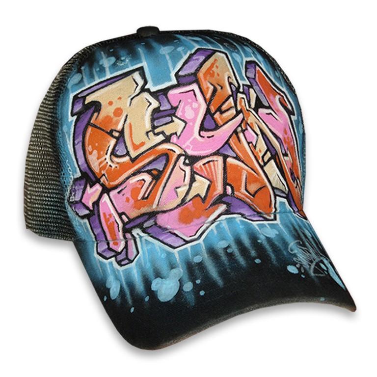 Casquette-personnalisée-style-Graffiti