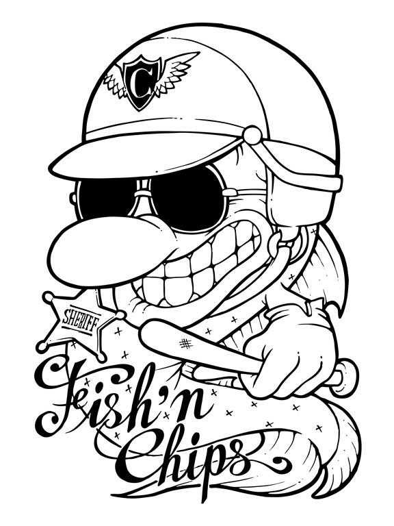 Fish-n-Chips-Tshirt-design