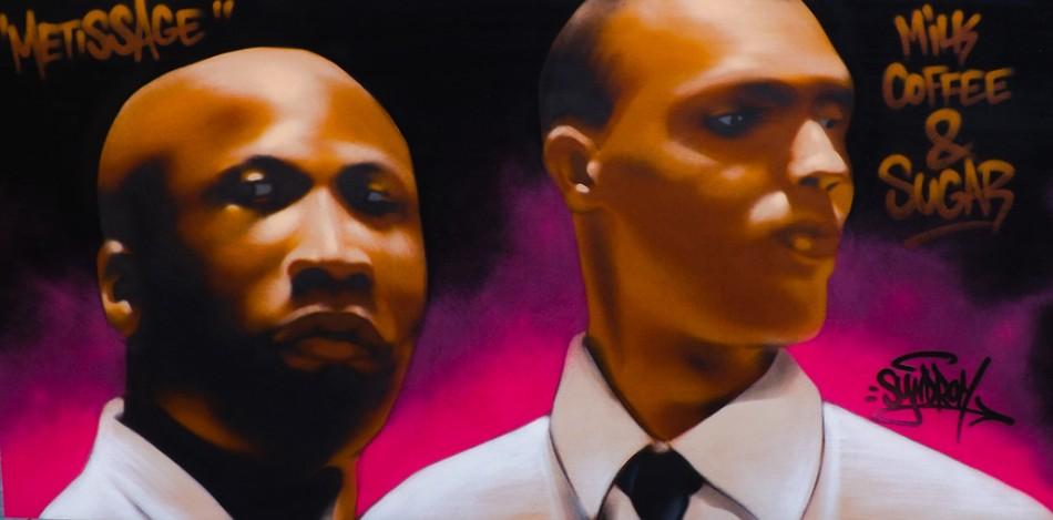 Performance-graff-Portrait-Milk-Coffee-&-Sugar-Muséum-La-Rochelle