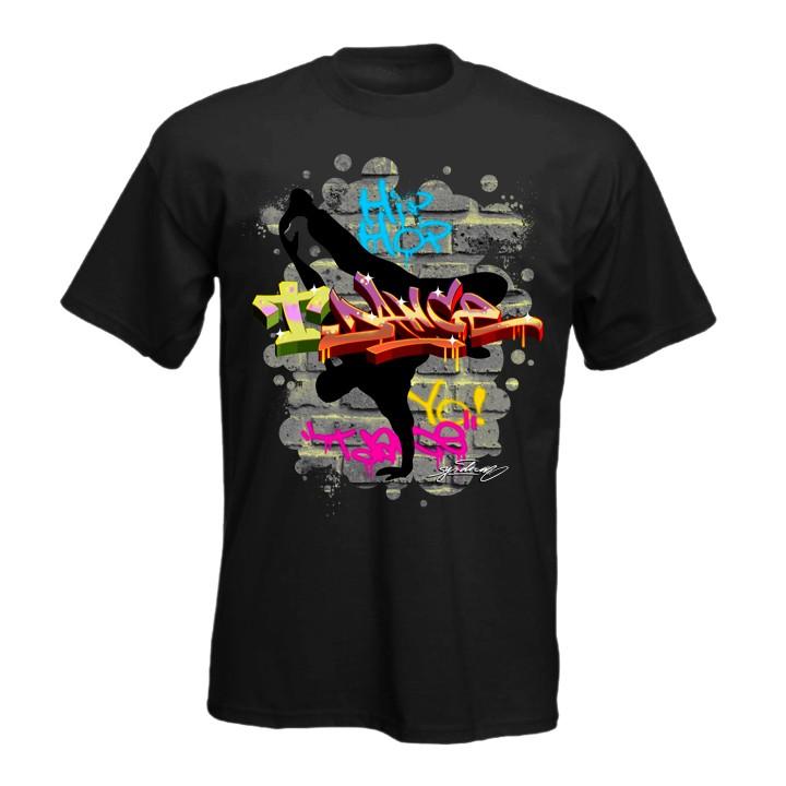 TDance-HipHop-Tshirt-design