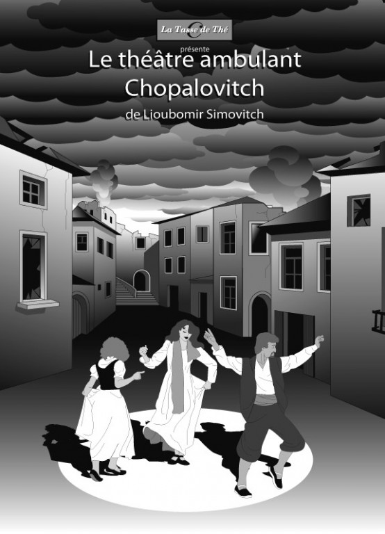 Affiche-illustration- théâtre-ambulant-Chopalovitch