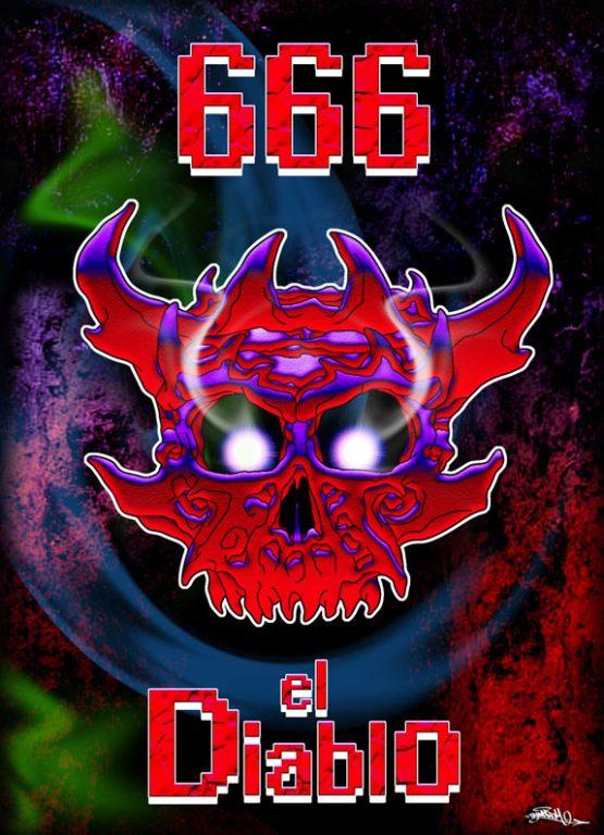 666-El-Diablo-Graphic-design-numerique-art