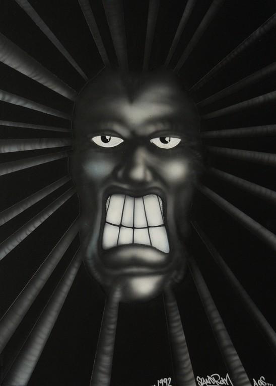 """""""Psycho"""" 29,7 x 42 cm"""