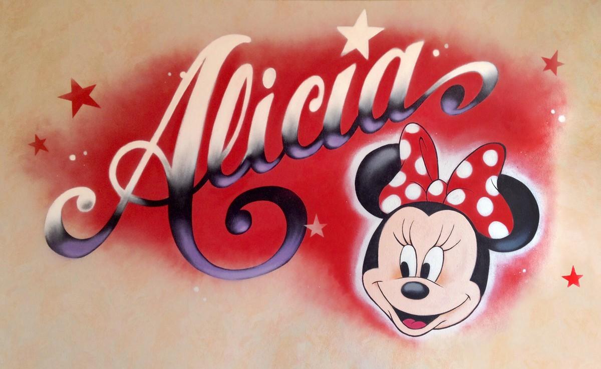 Deco-Graff-Disney-Minie-Alicia-Cursive-Script