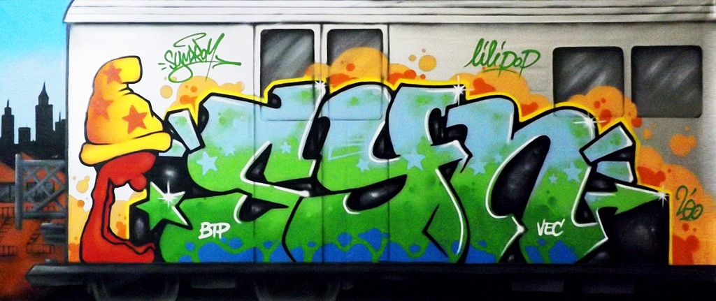 Graffiti-subway-VanBode