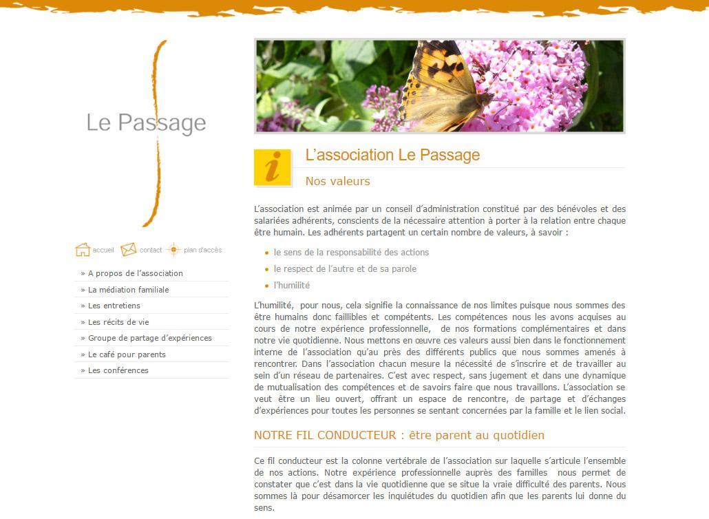 site-web-association-lepassage