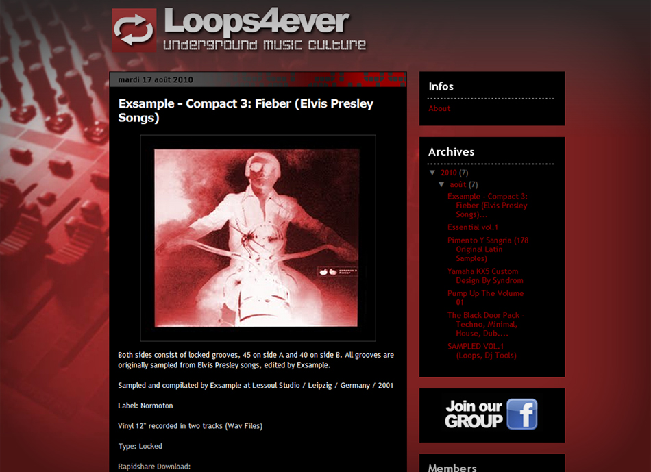 Blogger-Music-Template