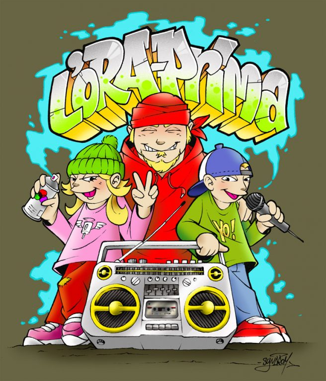 illustration-hiphop-graffiti-ghettoblaster
