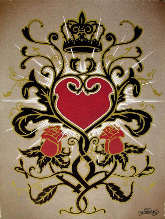 toile-acrylique-baroque-sacred-heart