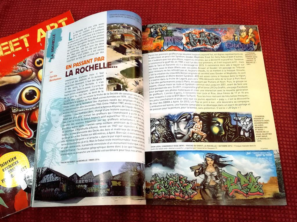 """Street art magazine"" 04-2014"