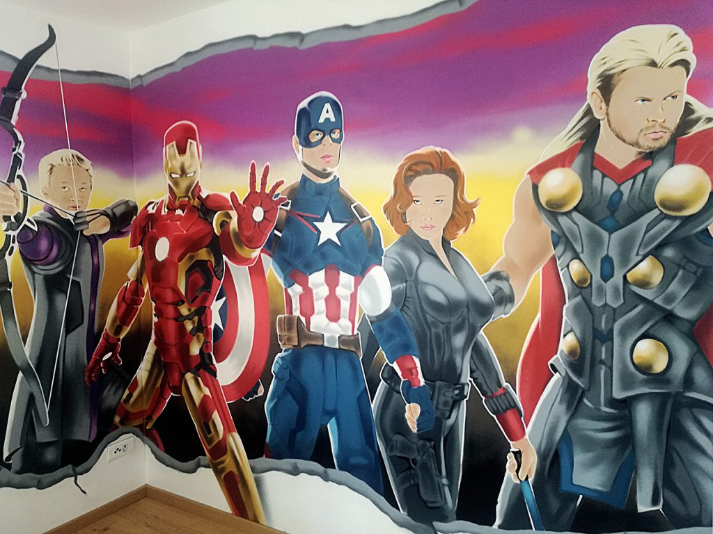deco-graff-theavengers
