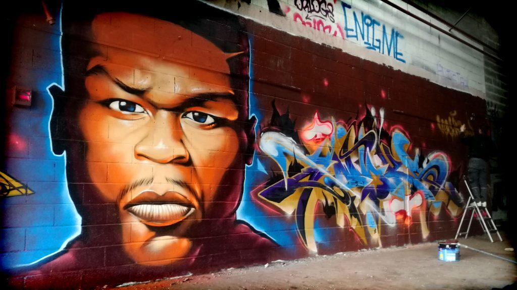 Graffiti, événements, jam avec le VEC crew