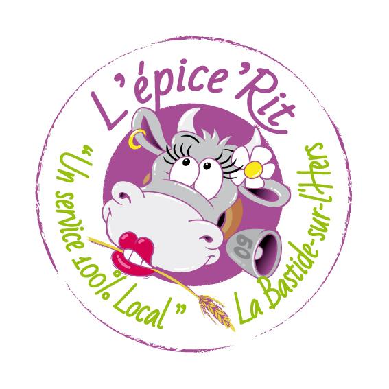 Logo de l'épice'Rit de La Bastide-sur-l'Hers